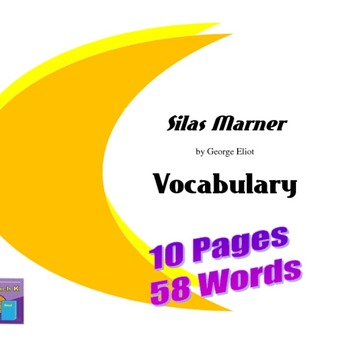 Silas Marner by George Eliot Vocabulary