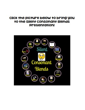 Silent Consonant Blends Presentation