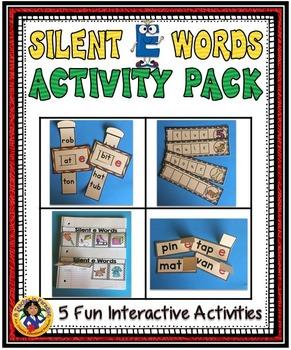 Silent 'E' Words Activity Set