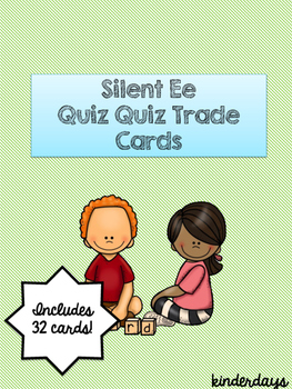 Silent Ee Quiz Quiz Trade Cards