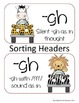 Silent -Gh, -Gh with /F/ Sound, And -Ph With /F/ Sound Wor