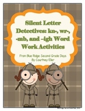 Silent Letter Detectives: Kn-, Wr-, -Mb, and -Igh Word Wor