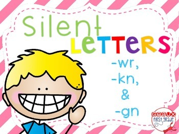 Silent Letters Packet {wr, gn, kn}