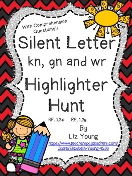 Silent Letters kn, gn, and wr