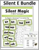 Silent E Bundle - Silent Magic Phonics Game and Magic Hand
