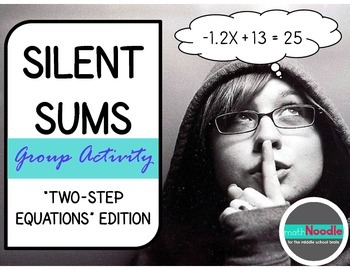 Silent Sums: Two-Step Equations Edition (Cooperative Activ