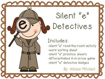 "Silent ""e"" Detectives (Magic e)"