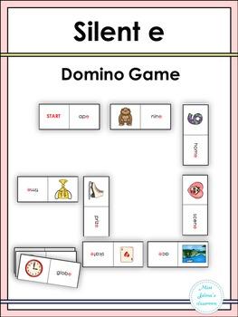 Silent e Domino Game
