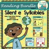 Silent e Syllable Level Four Bundle