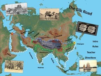 Silk Road Simulation/Game