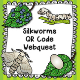 Silkworms QR Code Web Quest and Lifecycle Poster