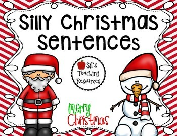 Silly Christmas Sentences