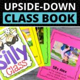 Silly Class Book Template: Upside Down Class Book