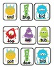 Silly Monster Word Scavenger Hunt: CVC and Long Vowel Word