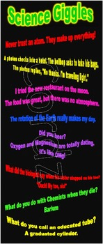 Silly Science Jokes Poster
