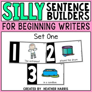 Silly Sentence Builders: Set 1