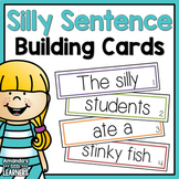 Silly Sentence Building Cards