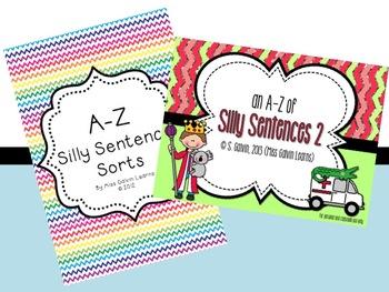 Silly Sentences Bundle