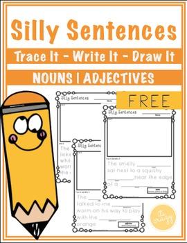 Silly Sentences Freebie