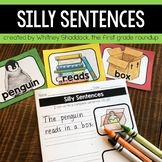 Writing Complete Sentences for ELL kids, Silly Sentences