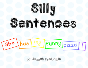 Silly Sentences Word Work