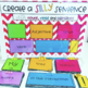 Silly Sentences - Writing Sentences with Nouns, Verbs and