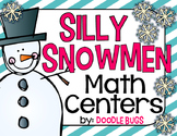 Silly Snowmen Math Centers {facts, counting, clocks, numbe