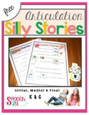 Silly Story Fill In: Pictured Articulation K and G