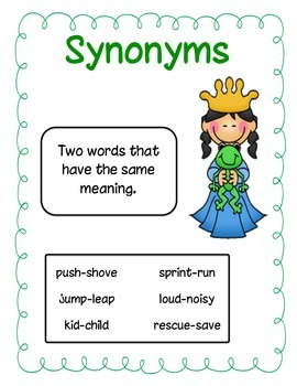 Silly Synonyms