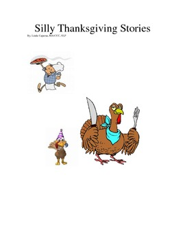 Silly Thanksgiving short stories with discussion and compr