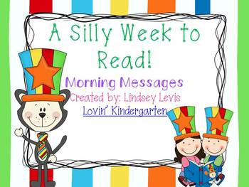 Silly Week to Read in March- Morning Messages