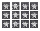 Silver Star Theme Calendar Set