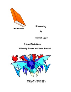 Silverwing Novel Study Guide