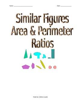 Similar Figures - Area & Perimeter Ratios