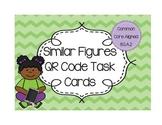 Similar Figures QR task cards