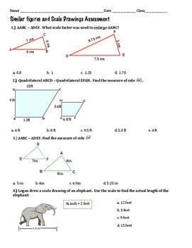 Similar Figures & Scale Drawings Quiz