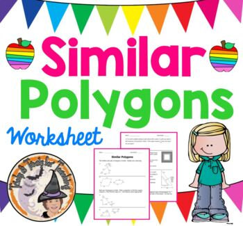Similar Polygons Practice Worksheet Geometry Word Problems