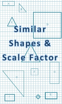 Similar Shapes & Scale Factor Fun Worksheet!