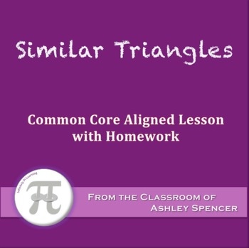 Similar Triangles (Lesson with Homework)