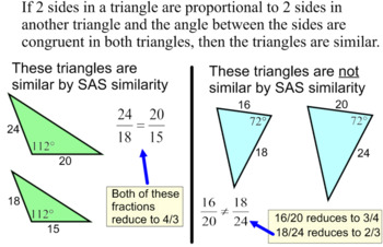 Similar Triangles- Instruction, Student Reference & 11 Ass