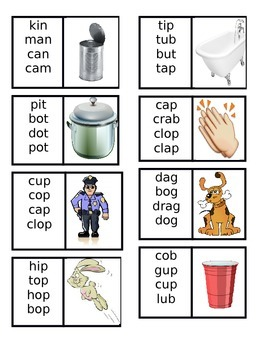 Similarly Spelled Words Cards