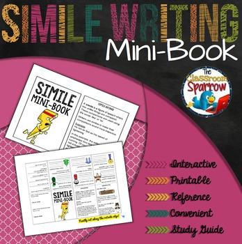 Simile Mini-Book (A Perfect Addition to an ELA Interactive