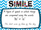"""Simile """"Show"""" not """"Tell"""" small group Mini-lesson"""