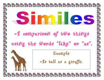Simile Sign