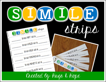 Simile Strips - Critical Thinking
