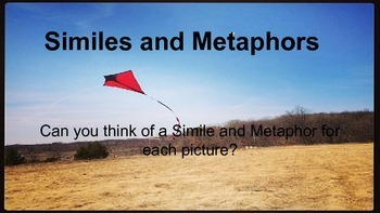 Simile and Metaphor Photographs