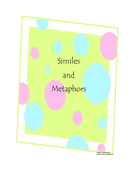 Simile and Metaphor packet