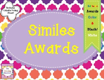 End of Year Awards - Similes