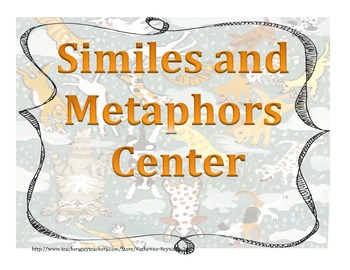 Similes and Metaphors Center