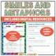 Similes and Metaphors Task Cards Activity - Common Core Aligned